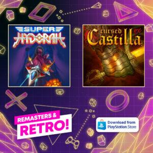 55% off on Playstation: Cursed Castilla and Super Hydorah