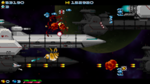 The indie shoot'em up Super Hydorah releases on September 20th for Xbox One and Steam!